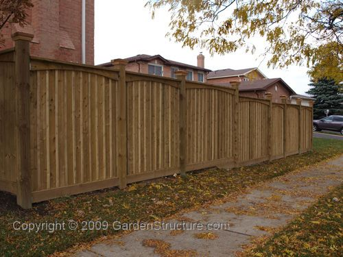 F008 Pro Fence Plans Working Drawings Fence Design Privacy Fence Designs Privacy Landscaping