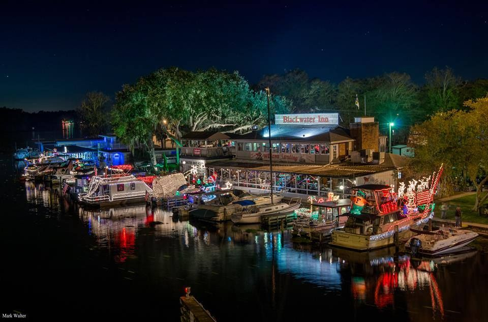 Blackwater Inn Astor Fl Boat Parade Florida Places Ive Been