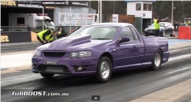 900 Ford Falcon Xr8 Ute This Purple People Eater Rips Off Nines
