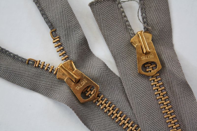 vintage talon zippers