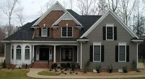 Image Result For Red Brick House With Vinyl Siding
