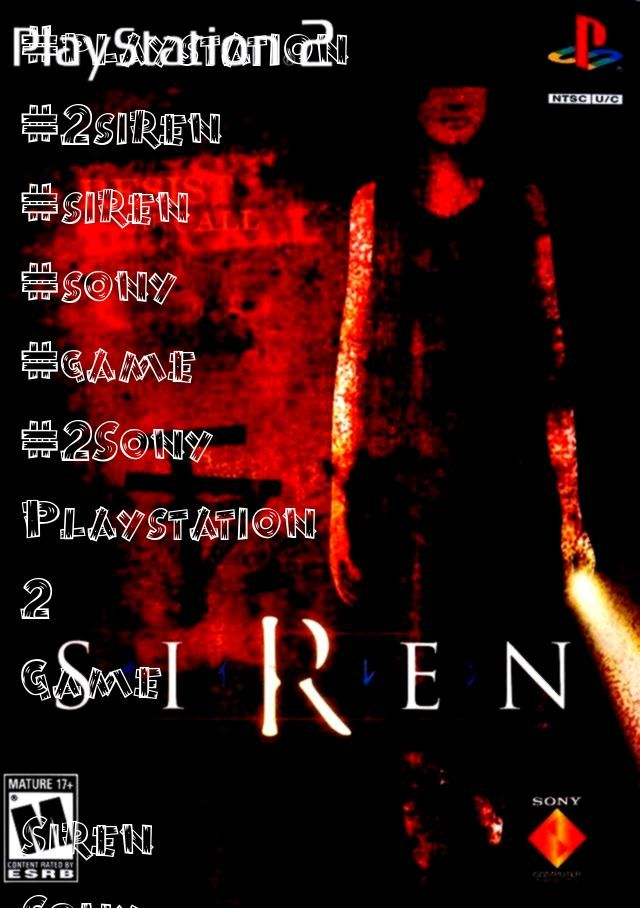 Playstation 2 Game Siren Sony Playstation 2 GameSony Playstation 2 Game Siren Sony Playstation 2 Game Downhill Domination  PS2 Game Tekken 5 Sony Playstation 2 Game
