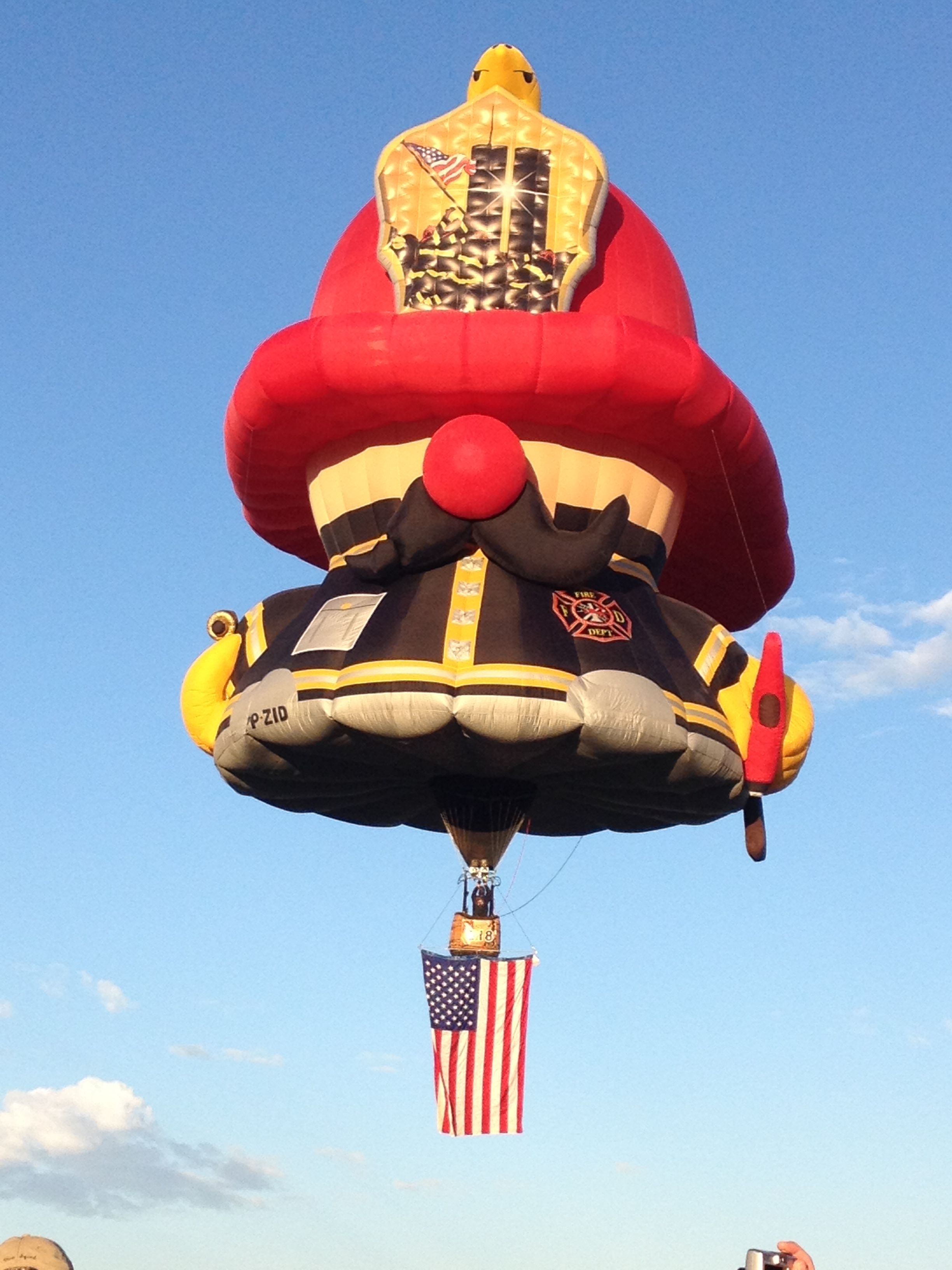 Fireman Balloons, Ballooning, Hot air balloon