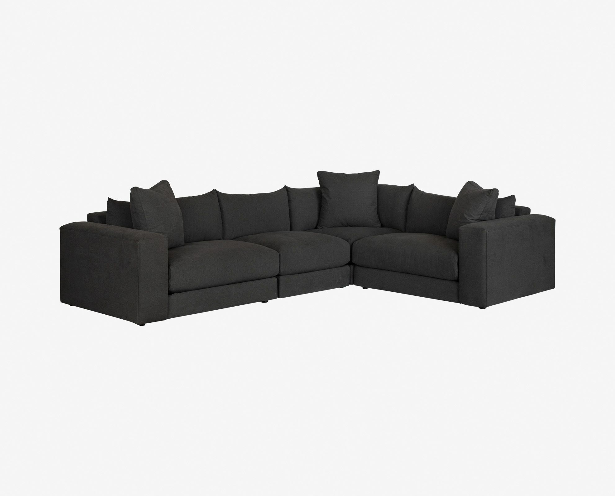1st Pick Dania Versatility And Comfort Are Key With The Adrian Modular Unique Living Room Furniture Modular Sectional Modern Furniture Living Room