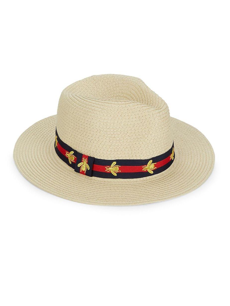 Vince Camuto Bee Preppy Panama Hat 557462437c25