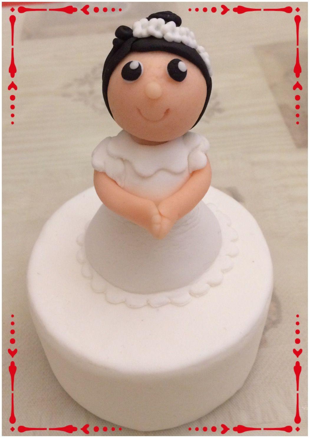 First communion - little girl | Cake toppers | Pinterest ...