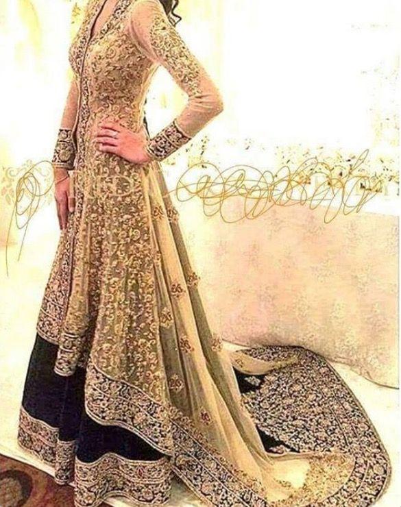 Pakistan dress pinteres for Trendy indian wedding dresses