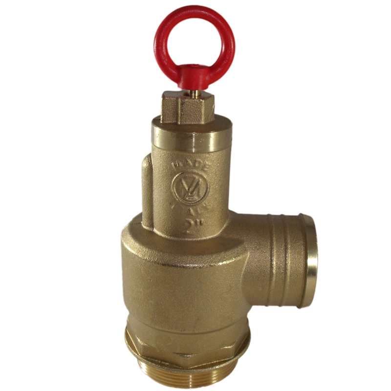 Pressure Relief Valve to control pressure inside.