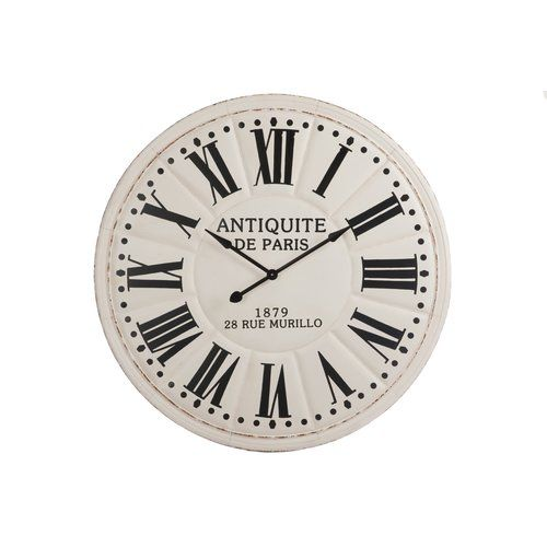 Oversized Antiquite De Paris 113cm Wall Clock Alexandrahouse Gear Wall Clock Wall Clock Roman Numeral Wall Clock