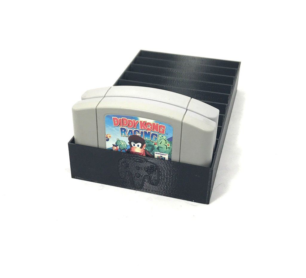 Black N64 Game Tray