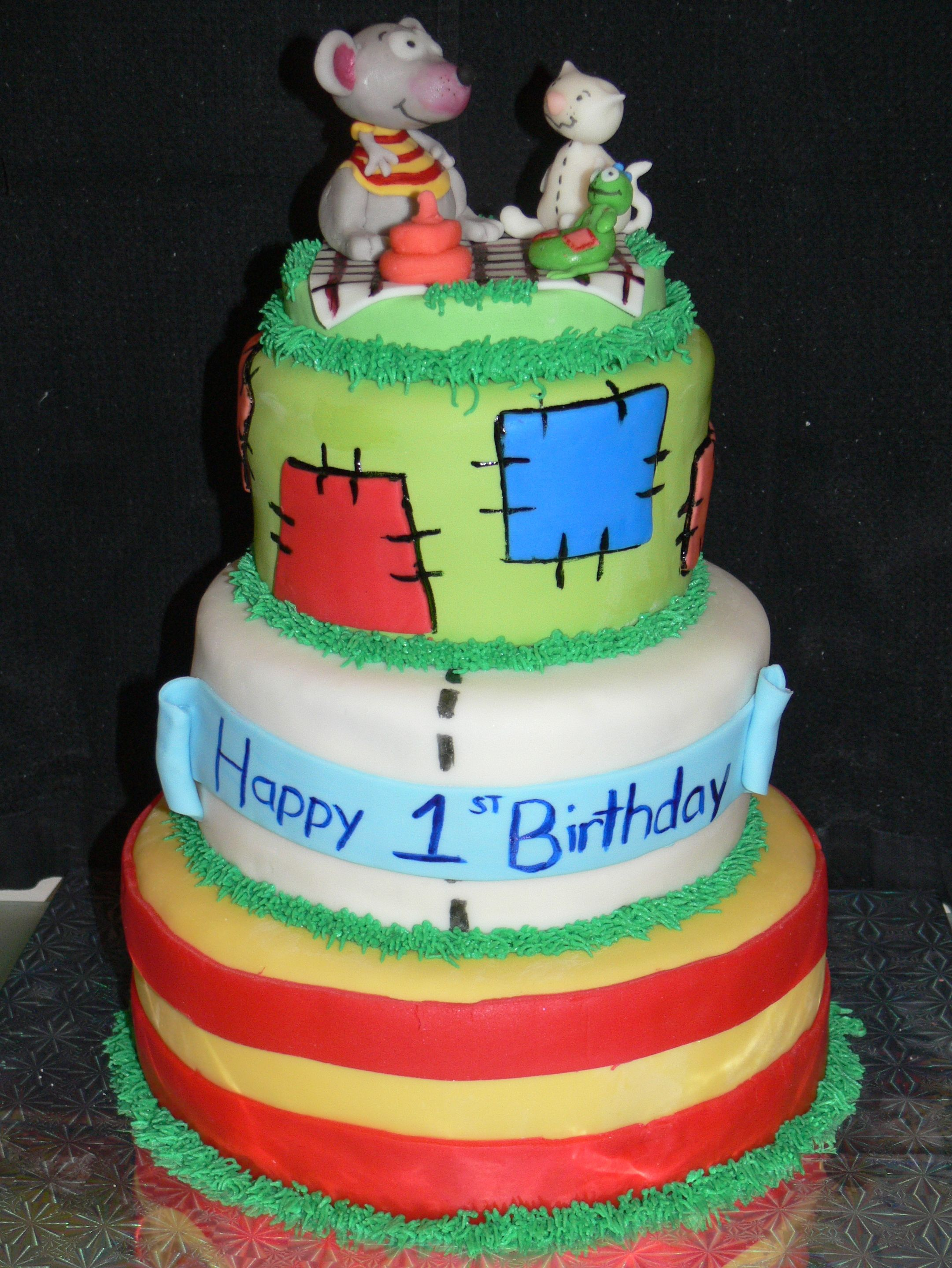 toopy and binoo birthday cake dessert by design cakes