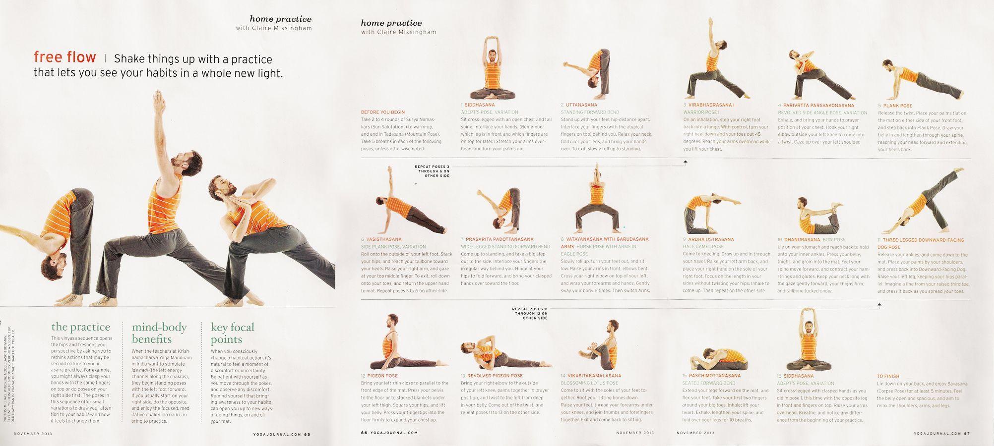 Image Result For Wide Leg Forward Fold Standing Finger Interlaced Behind Back Yoga Journal Yoga Flow Sequence Yoga Flow