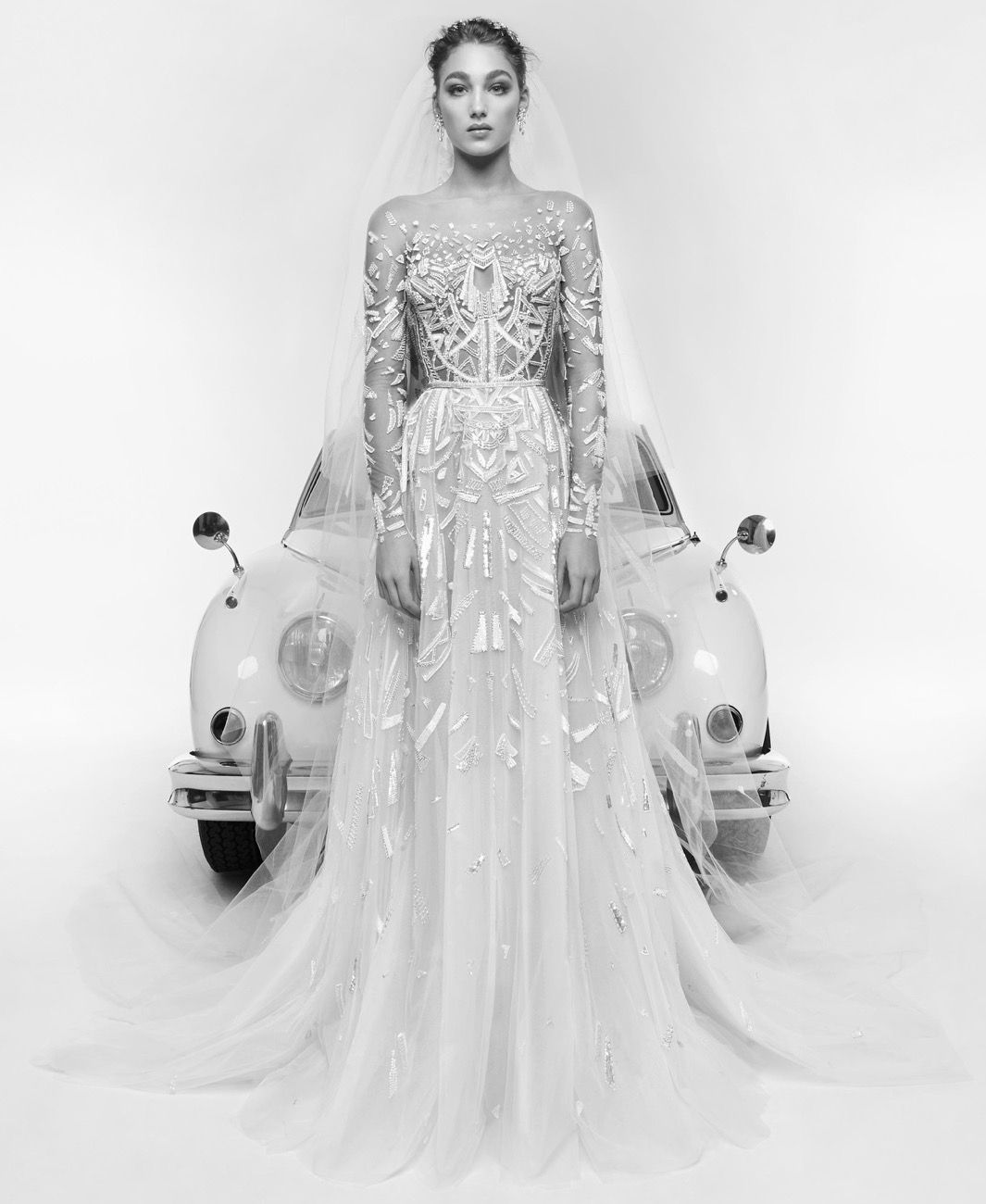 07c005d2ba3 Zuhair Murad Spring 2019 Bridal Collection - Regina Wedding Dress ...