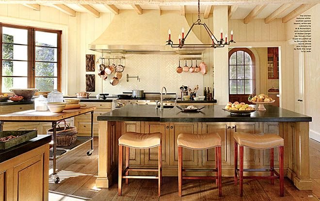 Suzanne Kesler designed kitchen