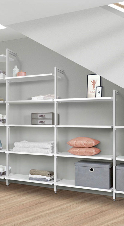 begehbarer kleiderschrank f r dachschr ge und. Black Bedroom Furniture Sets. Home Design Ideas