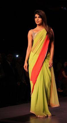 Priyanka Chopra Desi Girl Saree Online Google Search