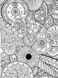 adult colouring page - Google Search