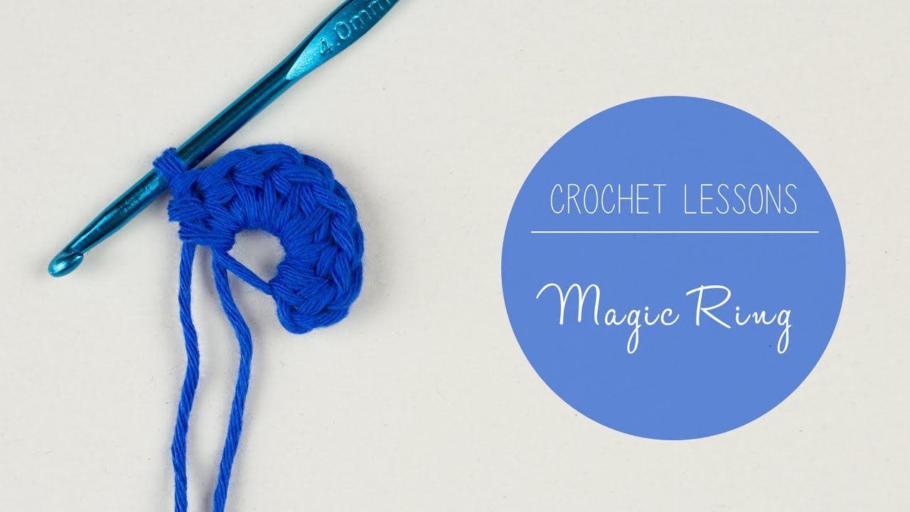 Learn to Crochet - How to Crochet a Magic Ring/Magic Circle | Croby ...