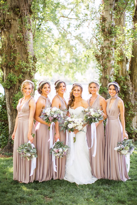 Purple And Green Organic Fairytale Wedding Pastel Bridesmaid Dresses Wedding Brides And Bridesmaids [ 1500 x 1000 Pixel ]