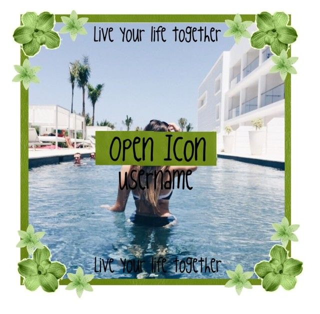 """""""Open Icon"""" by avaismyname on Polyvore featuring art"""