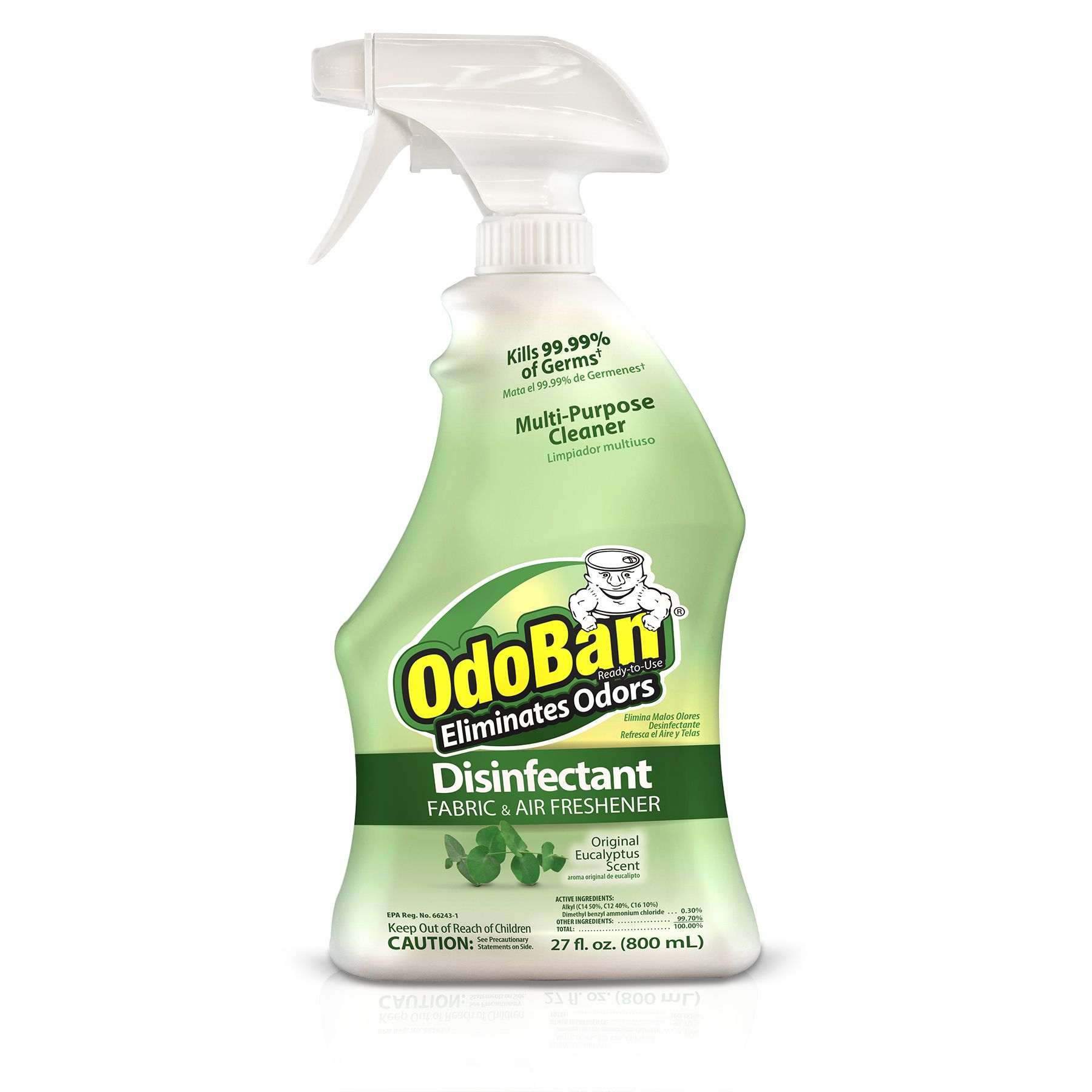 OdoBan Original Eucalyptus Scent Disinfectant Fabric & Air