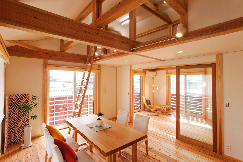寝室の実例 ミヤワキホーム おしゃれな家 外観 家 家 づくり
