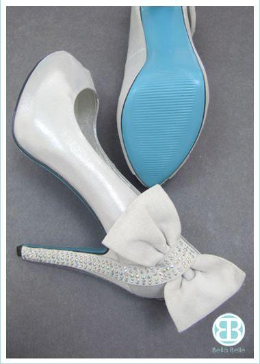 6581d24d63e Blue Sole Shoes by Bella Belle www.bellabelleshoes.com bleu ........holy  cute!