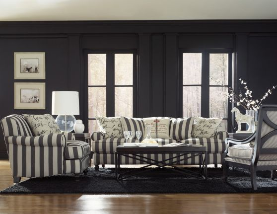 Weigh In On Your Favorite New Sofa | For the Home | Striped couch ...