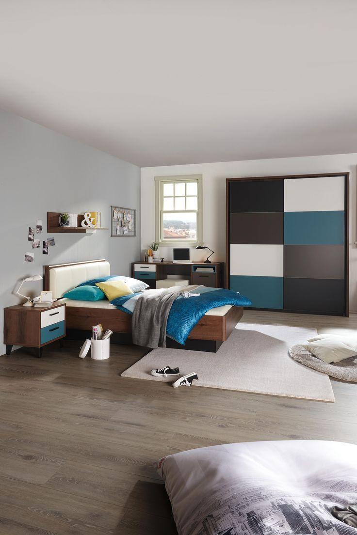 Schlafzimmer petrol - Wandfarbe pastelltone ...