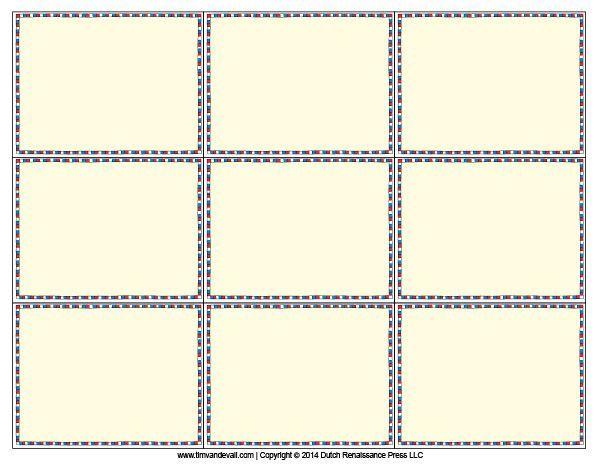 blank card templates - Google Search math games Pinterest Math - blank card template
