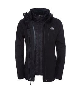 chaqueta impermeable mujer north face