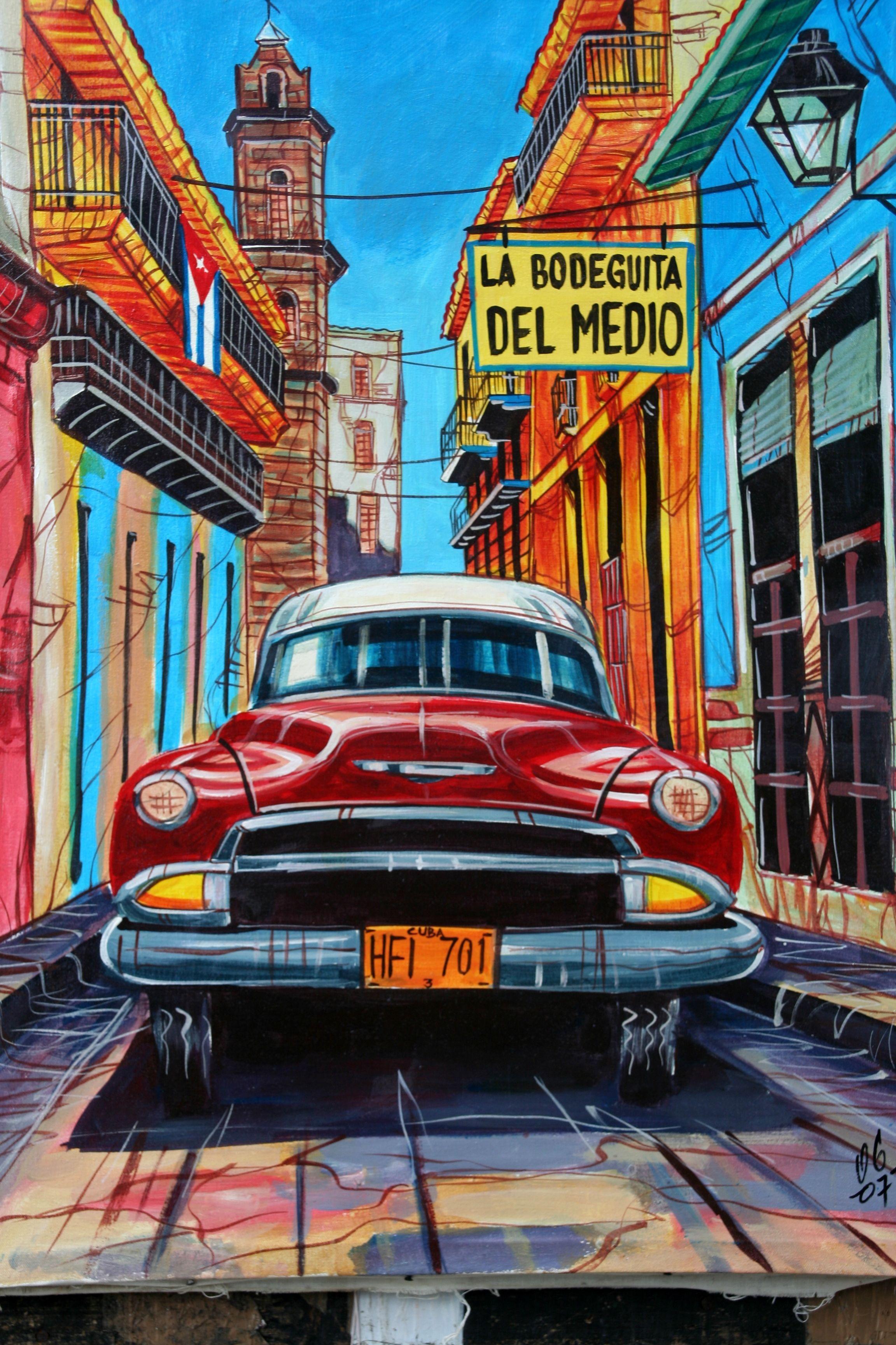Kunst in #Havana op #Cuba, mooi toch?