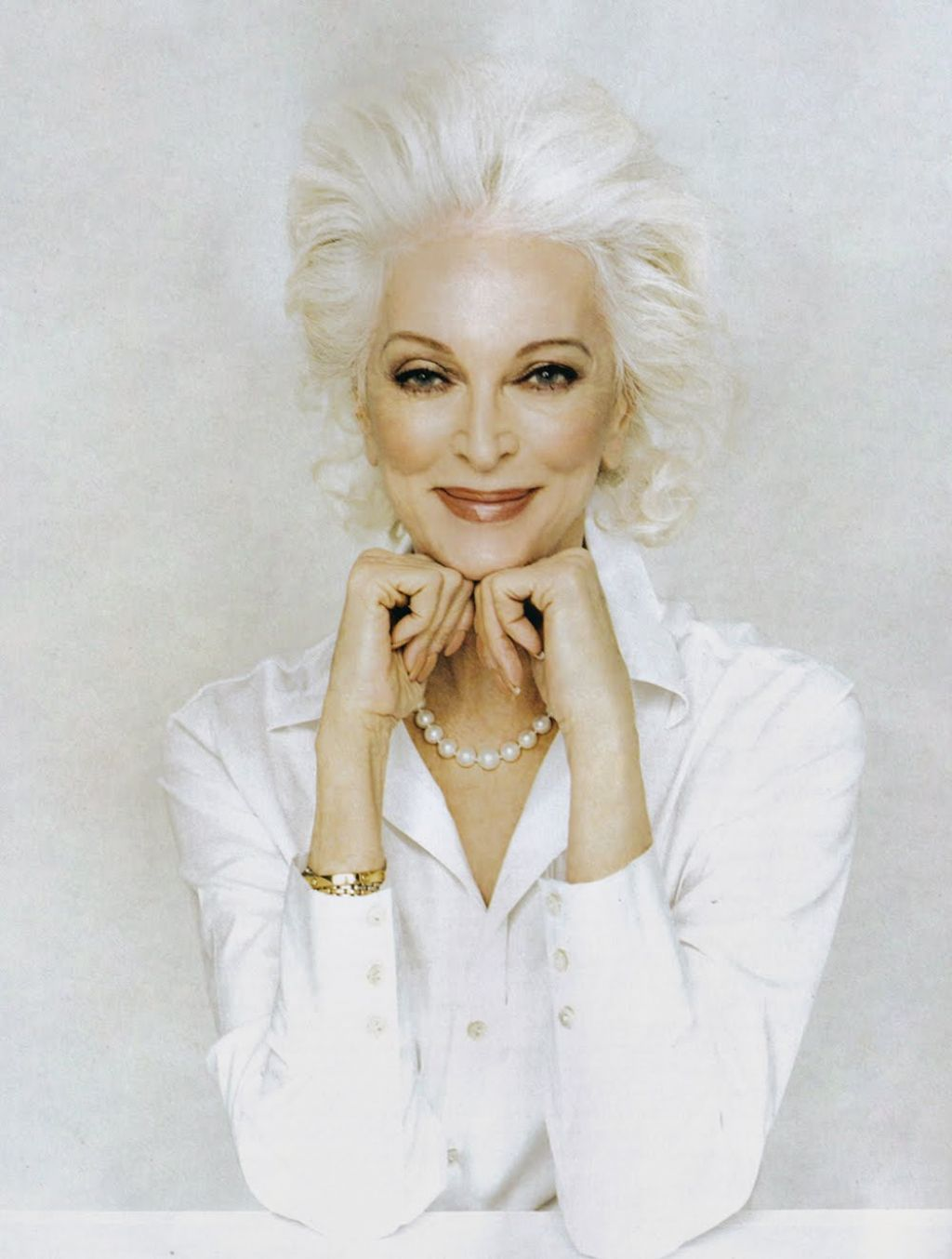 mature women white hairstyle ideas | elegantly refined beauty