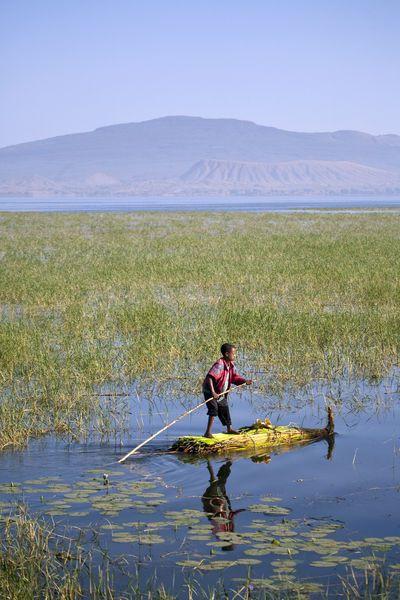 Lake Awassa, Ethiopia. Photo: Niels van Gijn, John Warburton-Lee Photography