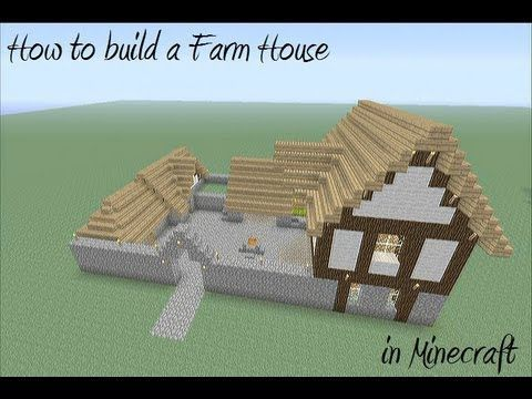 How to build  farm house in minecraft also my rh pinterest