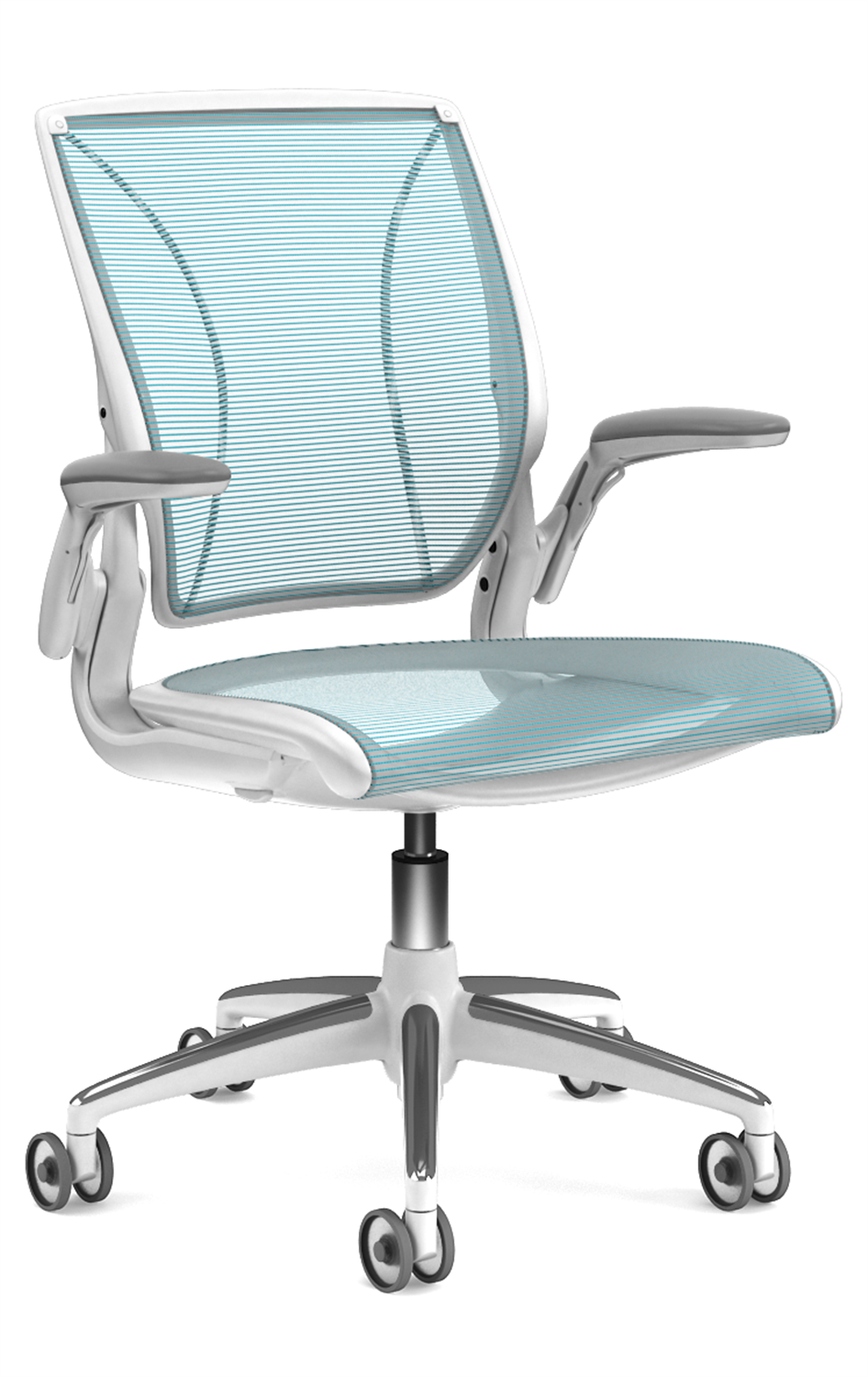 Humanscale Diffrient World Chair Humanscale Diffrient World Task Chair In Cyan For The Home