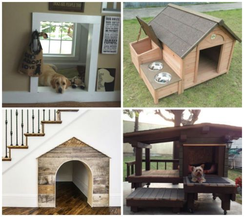 15 DIY Dog Houses That Even Dog Owners Cannot Say No - These dog houses are perfect for any dog owner in any situation.