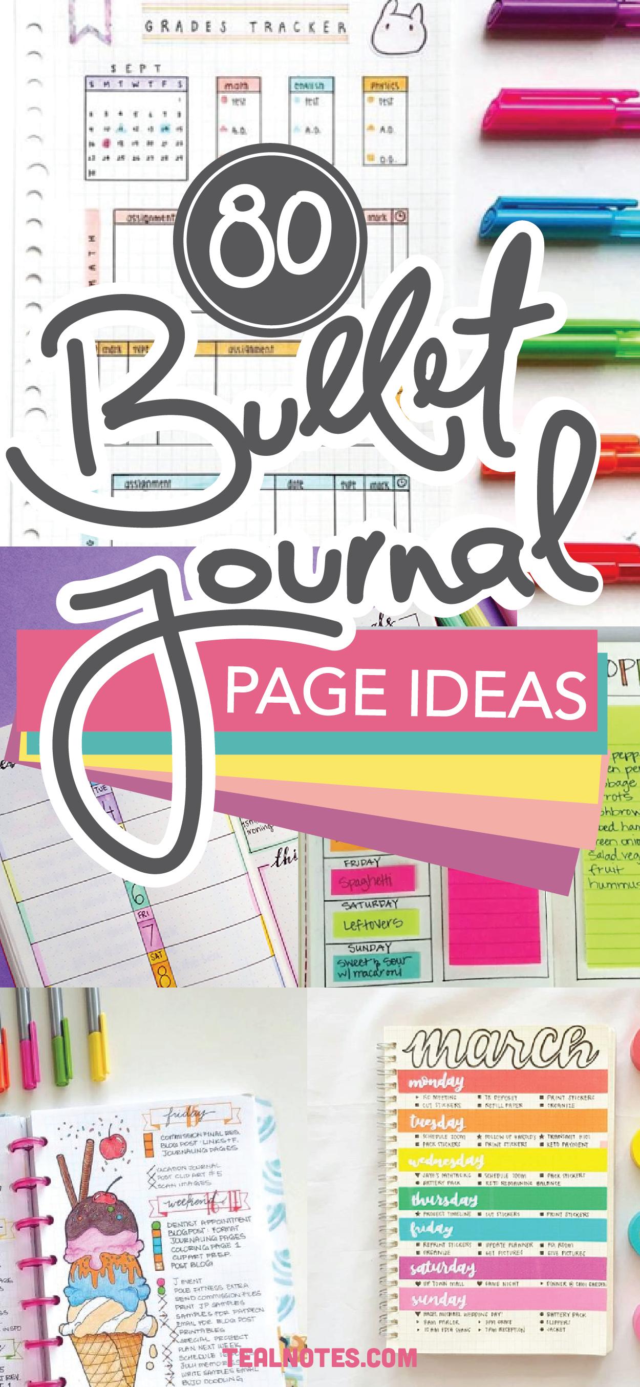 Pin on Bullet journal ideas