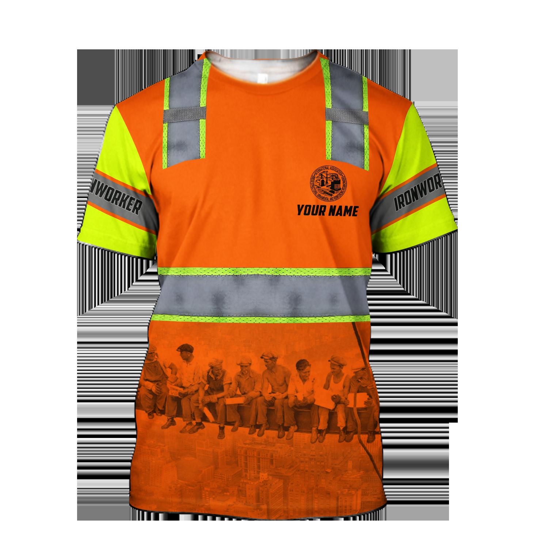 Ironworker not job title 3d unisex hoodie - T-shirt / 3XL
