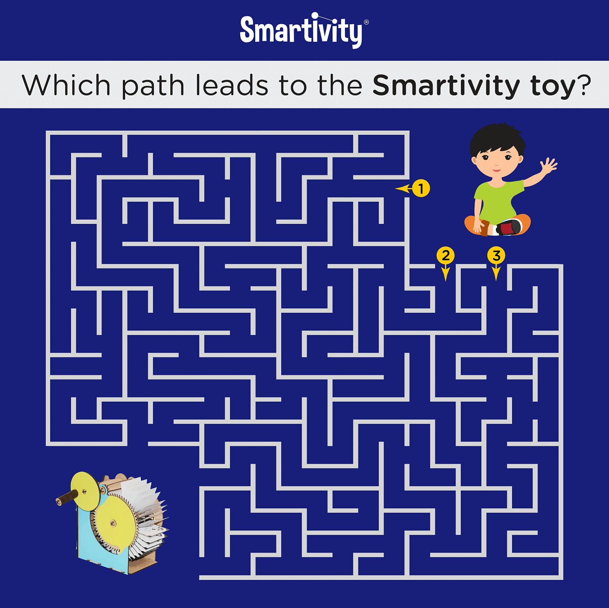 Can You Help The Kid Reach The Toy Smartivity