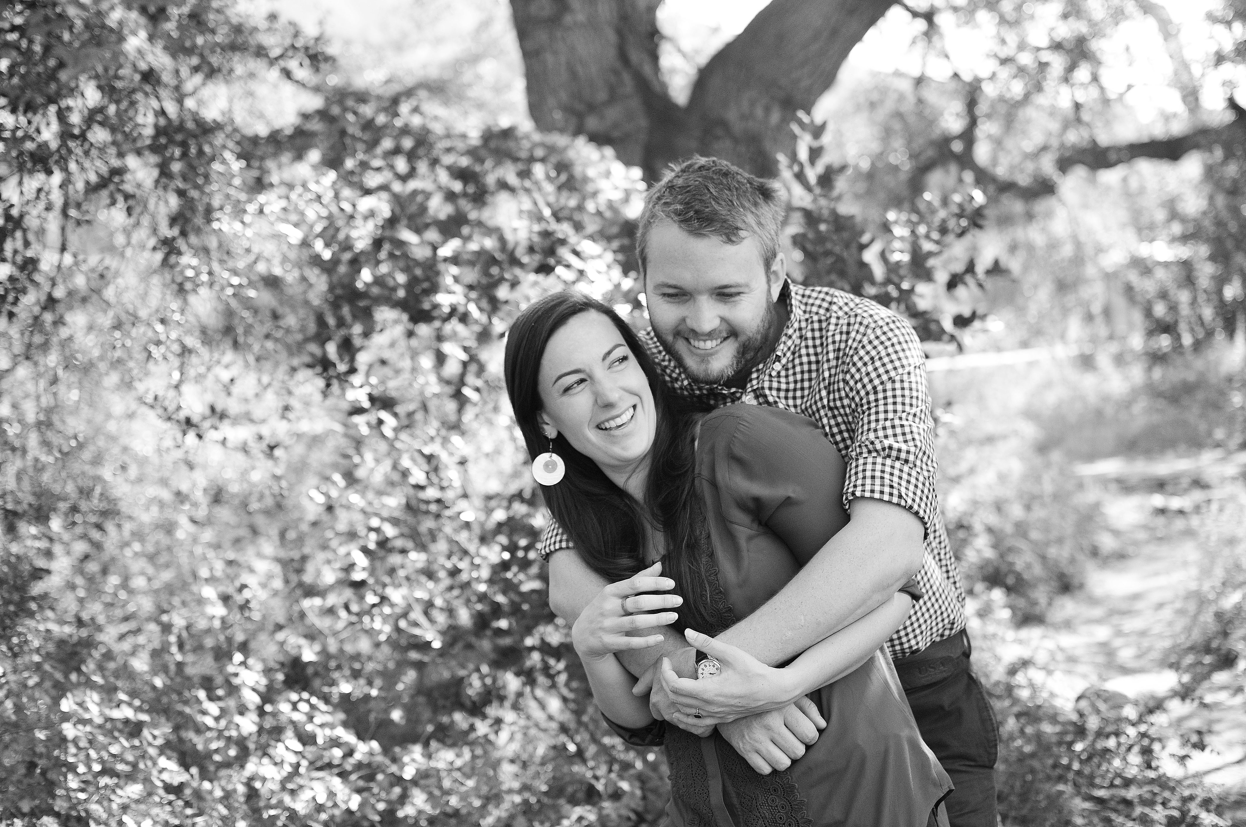 engagement outdoors