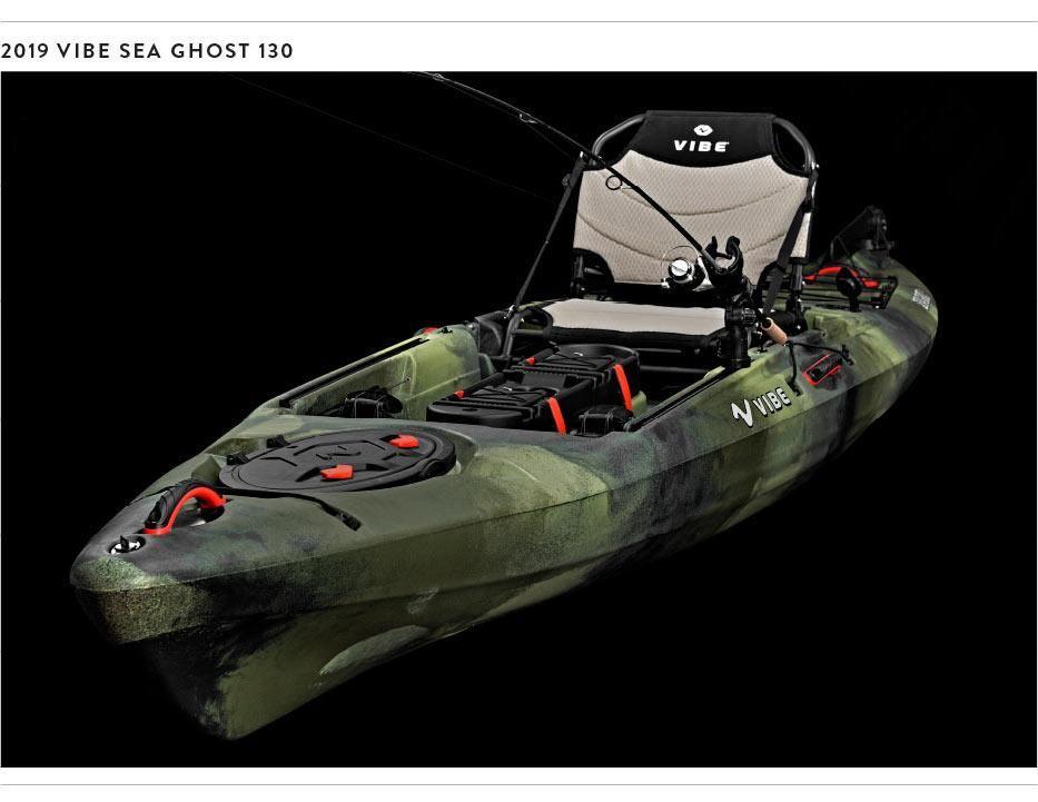 Meet the 2019 Sea Ghost Series Kayak fish finder, Sea