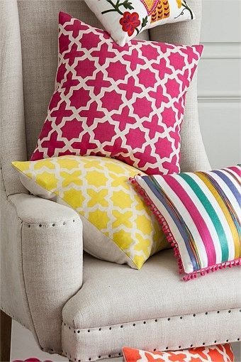 Homeware Geometric Cushion EziBuy Australia