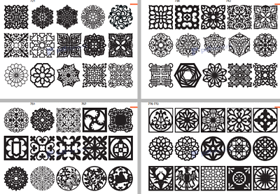Details about 900 DXF SVG files new CNC files 2D laser
