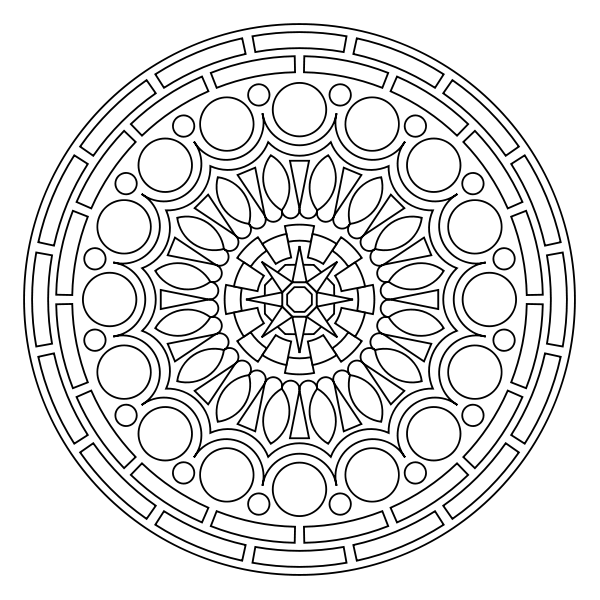 Free printable mandala coloring pages - my kids LOVE these, and so ...