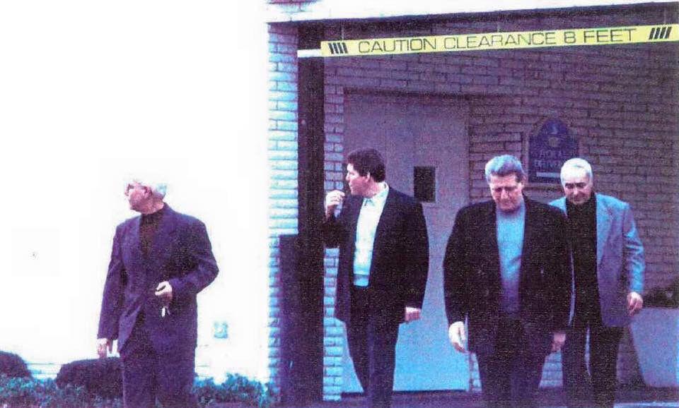 Gambino members Tommy cacciopoli , Michael dileanardo , Louis vallario and Eddie garafola