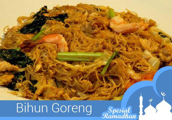 Sajian Ramadhan Resep Bihun Goreng Resep Masakan Indonesia Resep Masakan Resep Masakan Asia