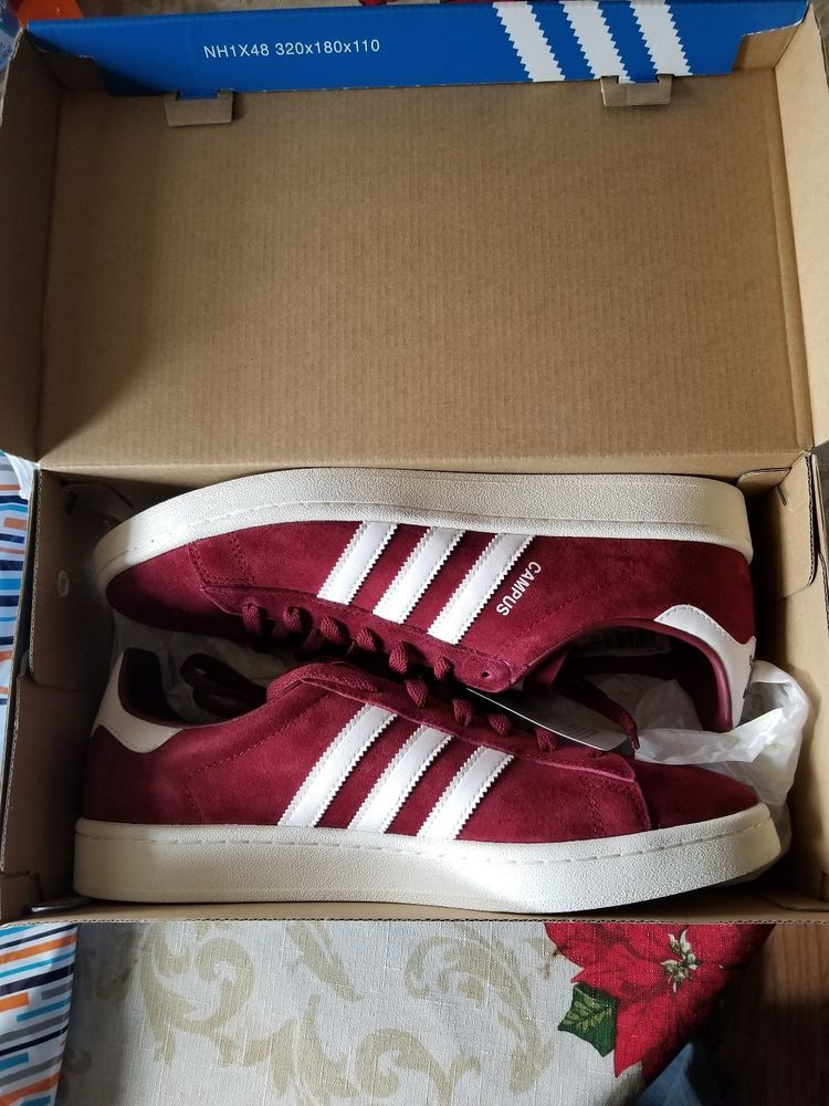 d8c9edca5dd4d Adidas Campus Shoes Men's - Burgundy 11 #fashion #clothing #shoes ...