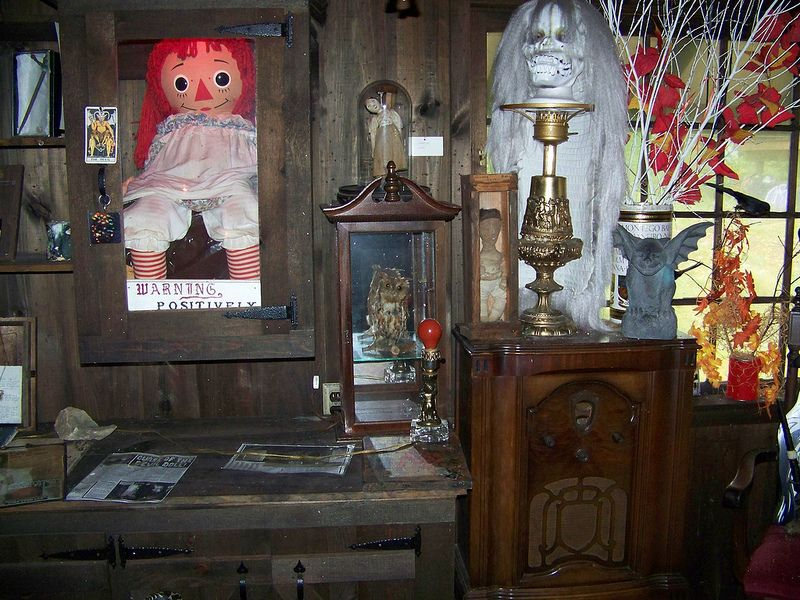 The warren occult museum founded 1952 by ed and lorraine for The warren house
