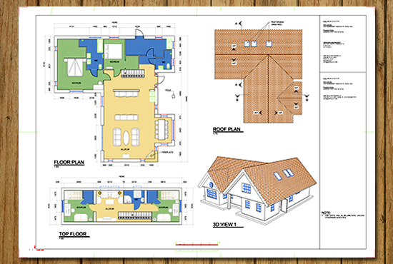 draw your floor plan in AutoCAD or Revit by jochesxp ...